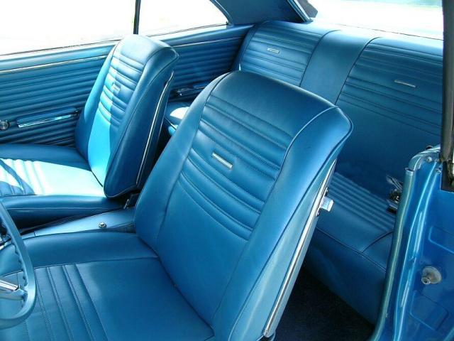 1967 Chevelle Bucket Seat Interior Photos