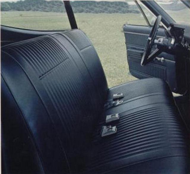 1967 Chevelle Custom Bucket Seats