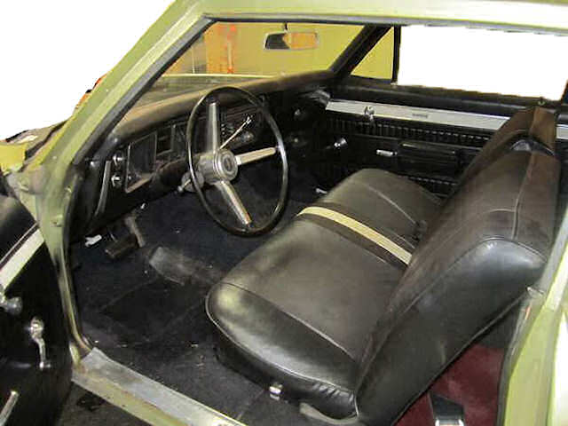 1968 Chevelle Bench Seat Interior Photos