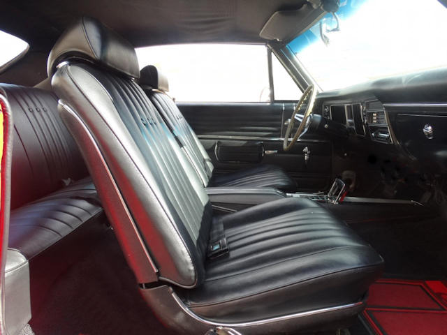 1968 Chevelle Bucket Seat Interior Photos