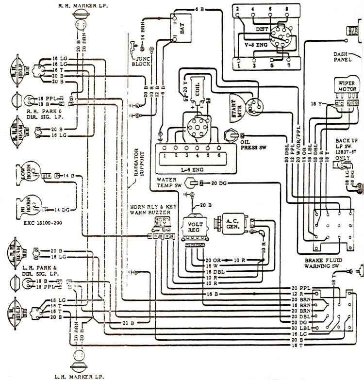 wiring_d1 1968 el camino wiring diagram with a c diagram wiring diagrams 68 chevy c10 wiring diagram at gsmx.co