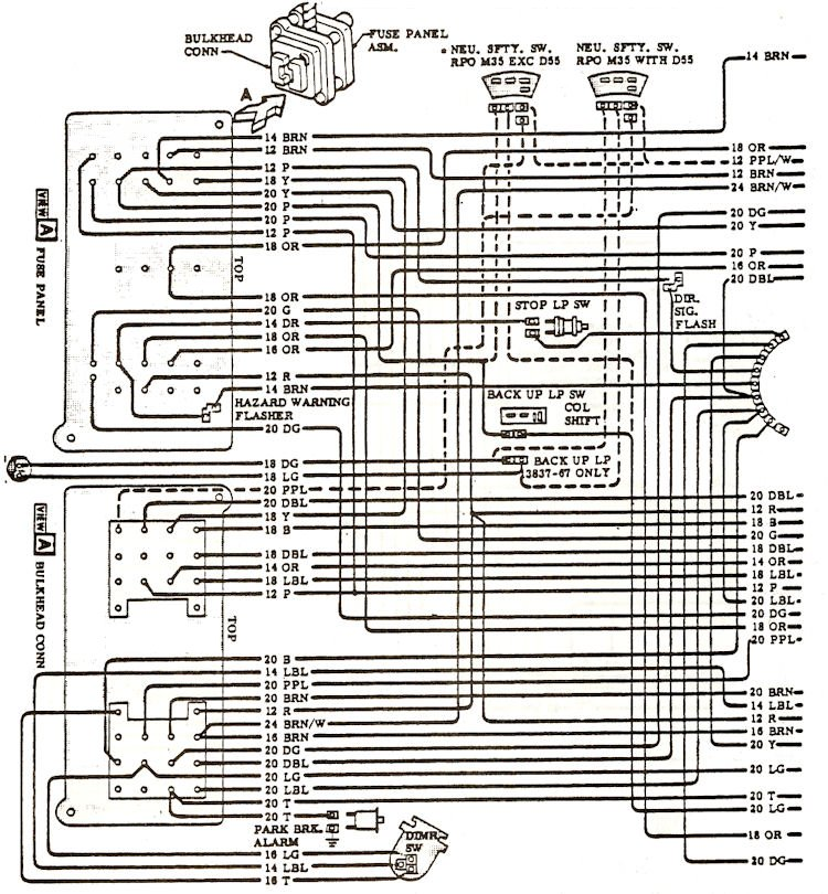 1968 Chevelle Wiring Diagrams – 1969 Chevelle Wiring Diagram