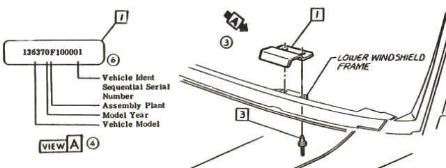 Image Result For  Mustang Data Plate Decoder
