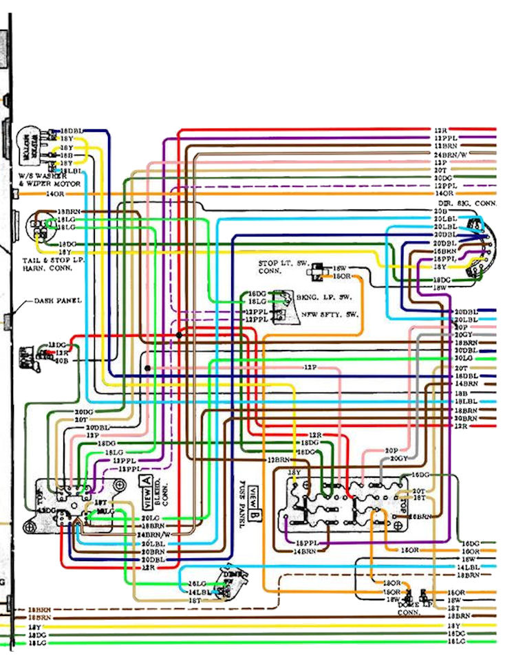 1972 Chevy Truck Wiring Diagram from www.chevellestuff.net