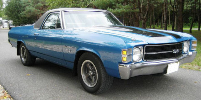 1971 El Camino Photo Gallery