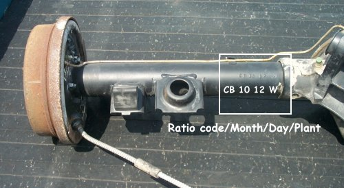 12 Bolt Codes Casting Numbers And Rear Axle Help