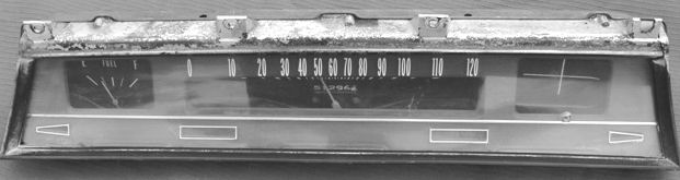 1966/1967 Chevelle Instrument Cluster ID