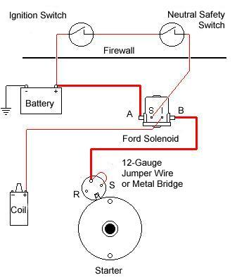 using ford solenoid to bypass starter solenoid corvetteforum rh corvetteforum com