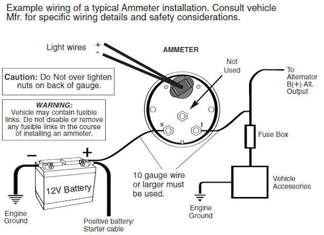 wiring_ammeter holley electric choke 1979 Chevrolet Wiring Diagram at edmiracle.co